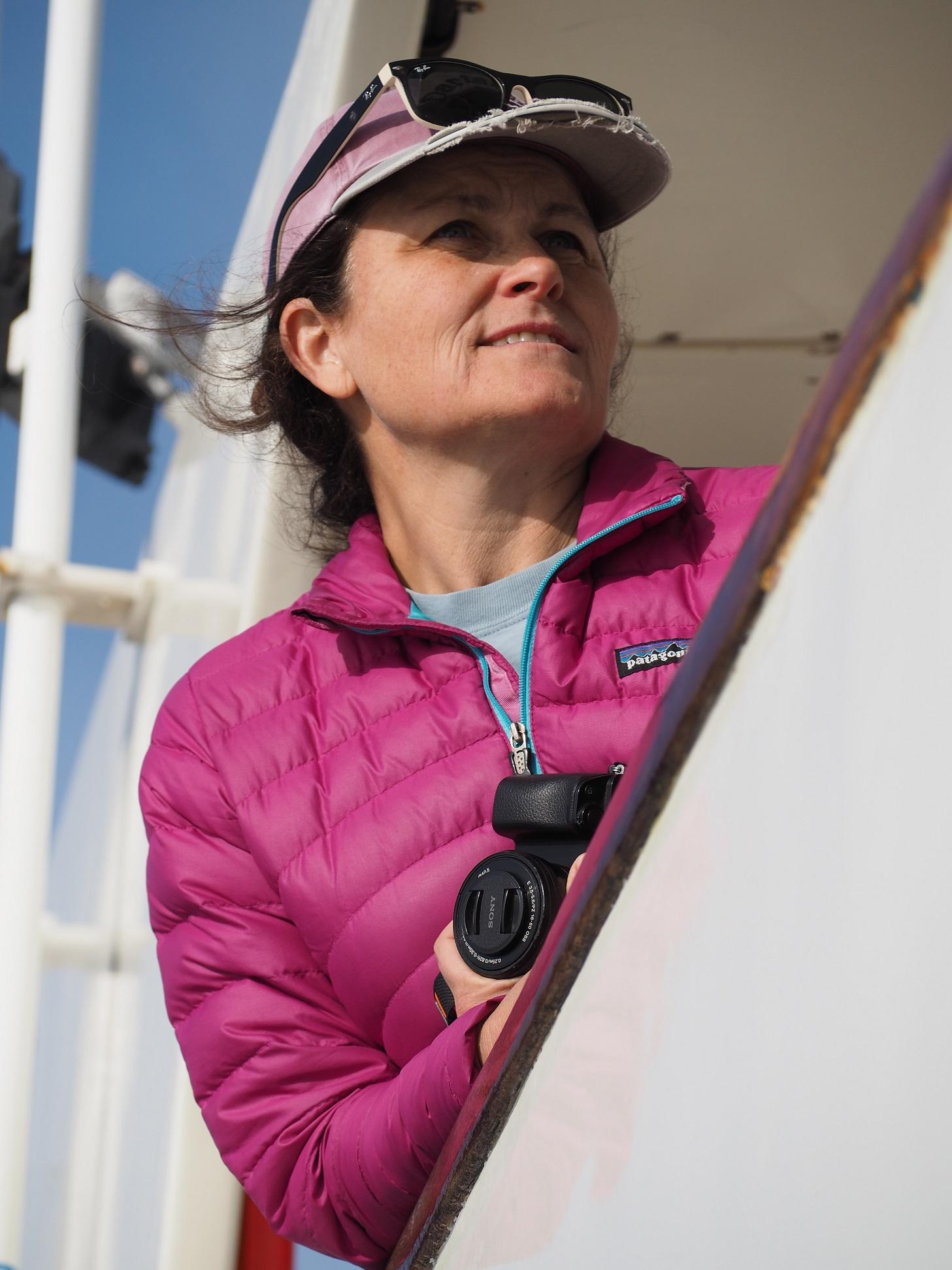 Shannon Rankin at-sea.