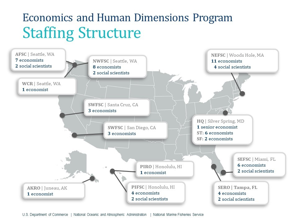 Economics and Human Dimensions Staffing Structure
