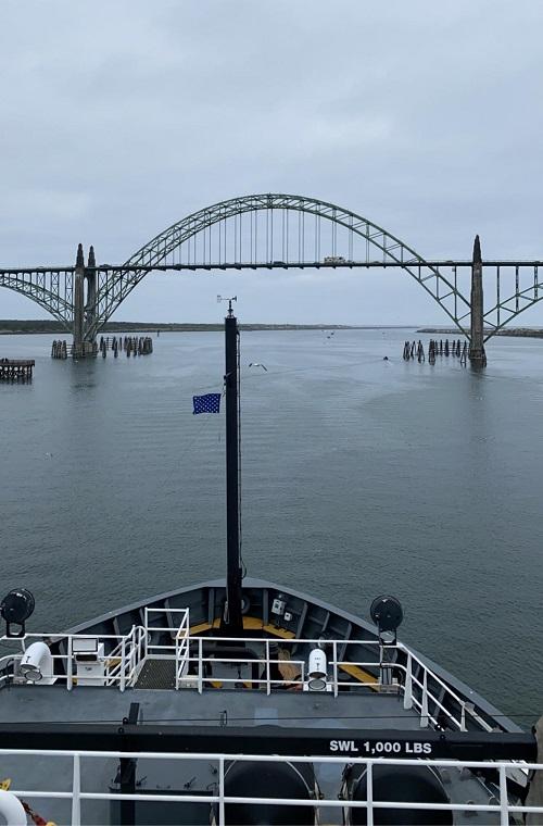 bridge near Newport, OR
