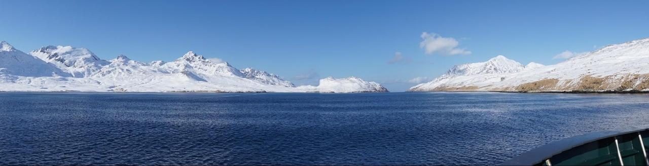 The Aleutian Islands.