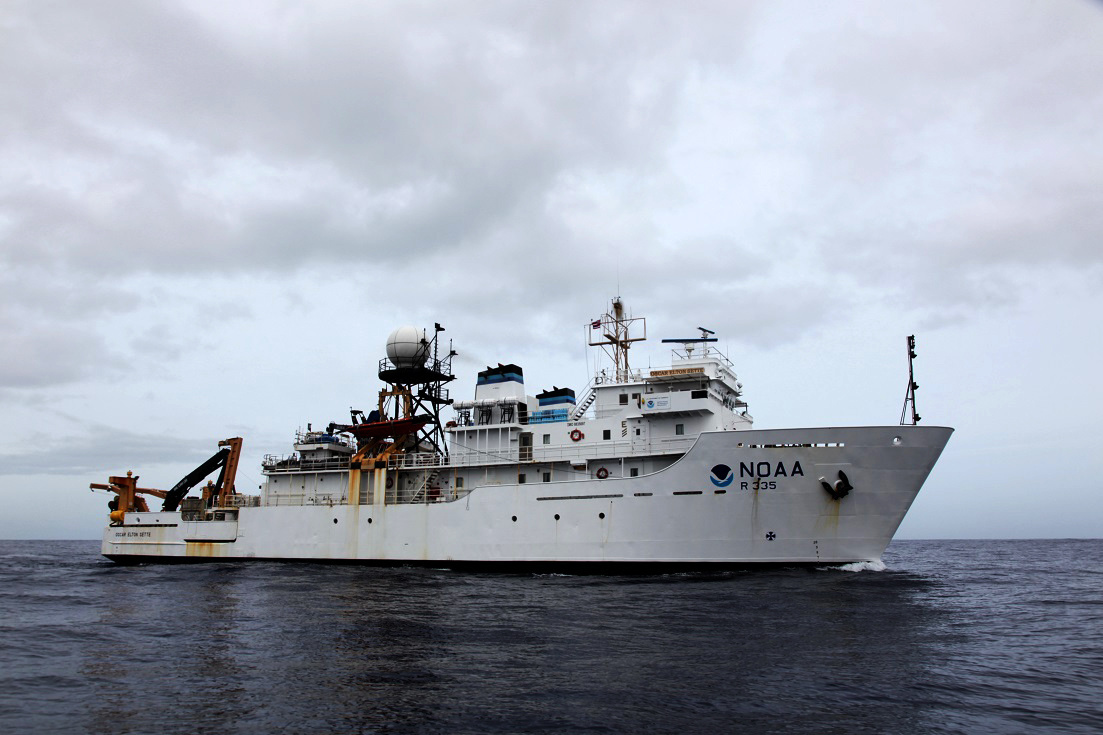 NOAA Ship Oscar Elton Sette departs Honolulu