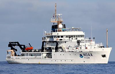 NOAA ShipReuben Lasker