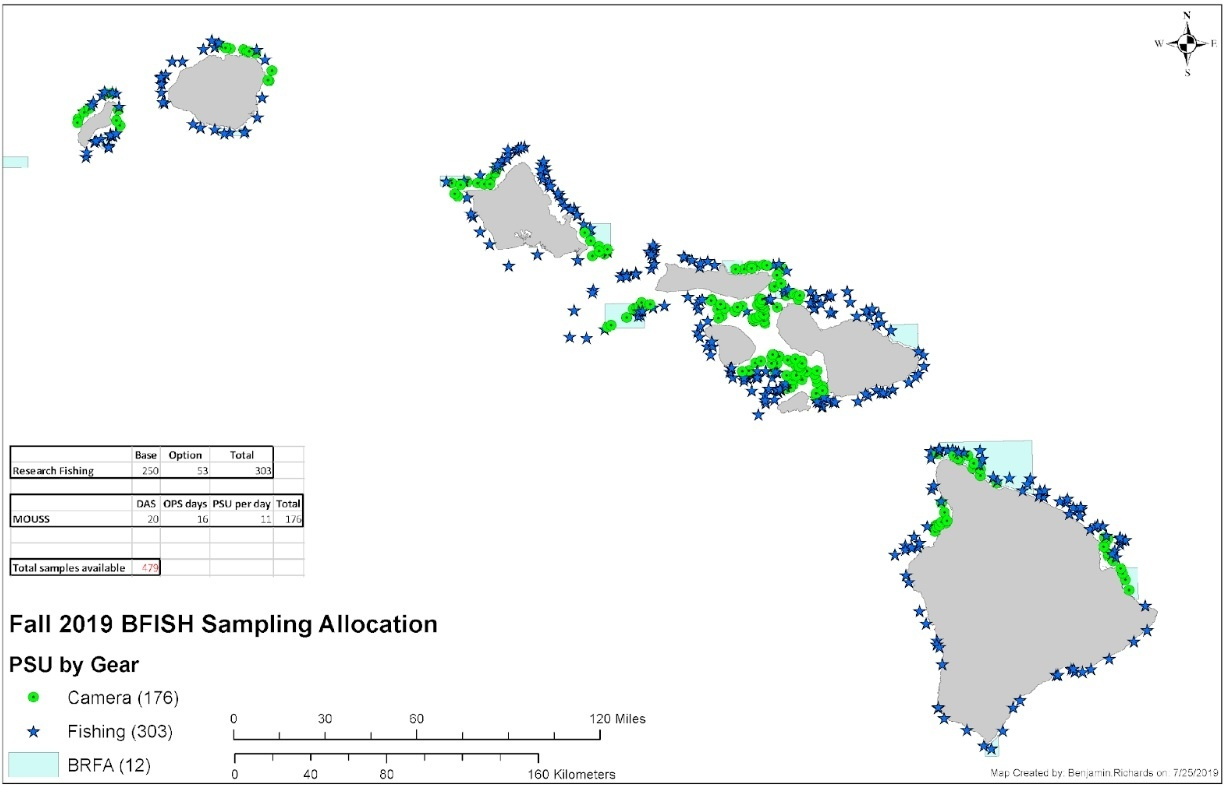 Map of sample sites.