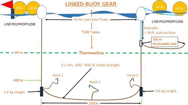 Diagram of Linked Buoy Gear