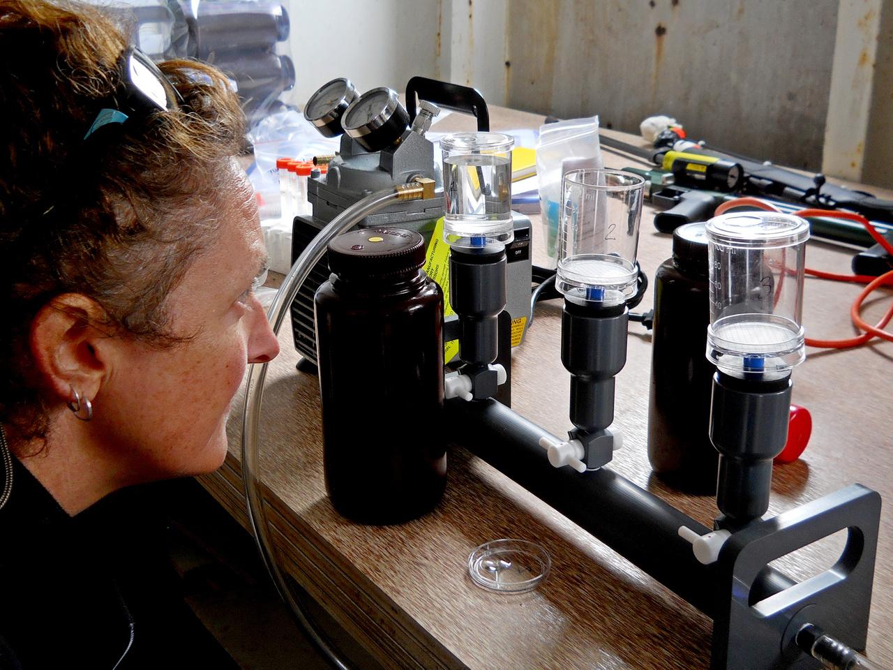 Checking seawater filter apparatus.JPG