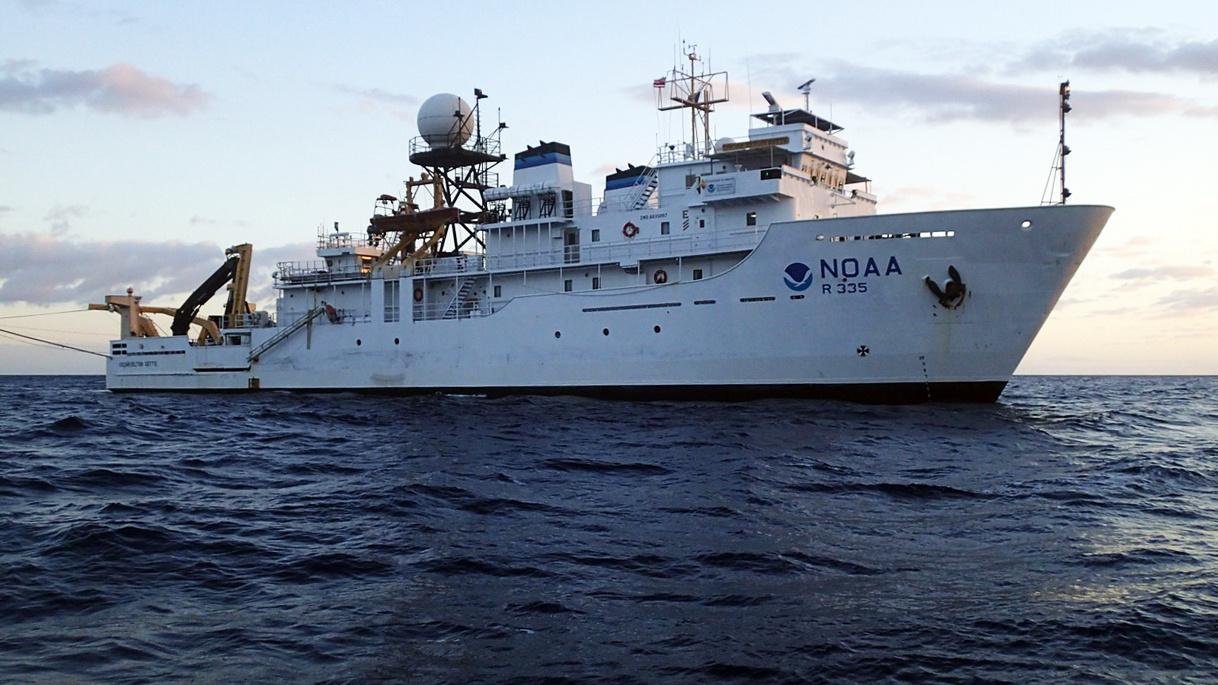 NOAA Ship Oscar Elton Sette at sea