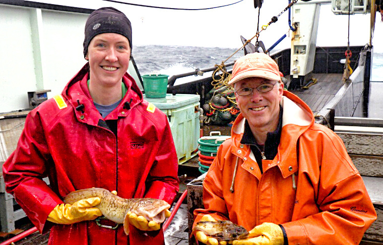 Eastern Bering Sea Survey Crew