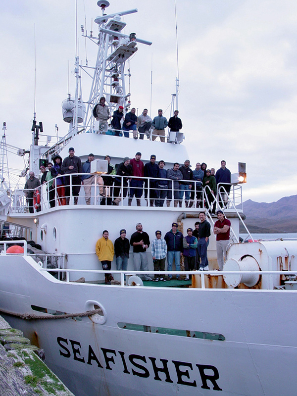 chartered Vessel Seafisher