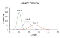 Fisheries Length & Frequency Graphic