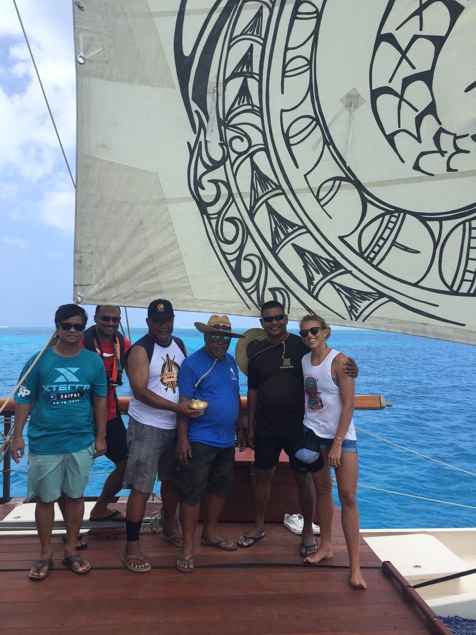 The Okeanos Marianas crew