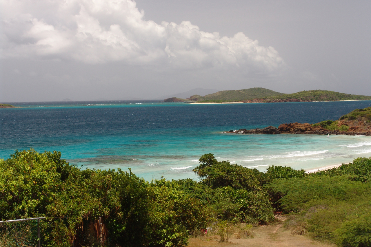 Beach at Culebra Island, Puerto Rico