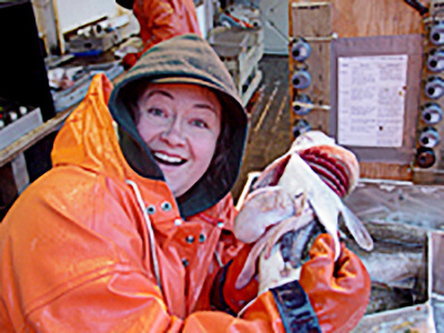 NOAA Fisheries Researcher.