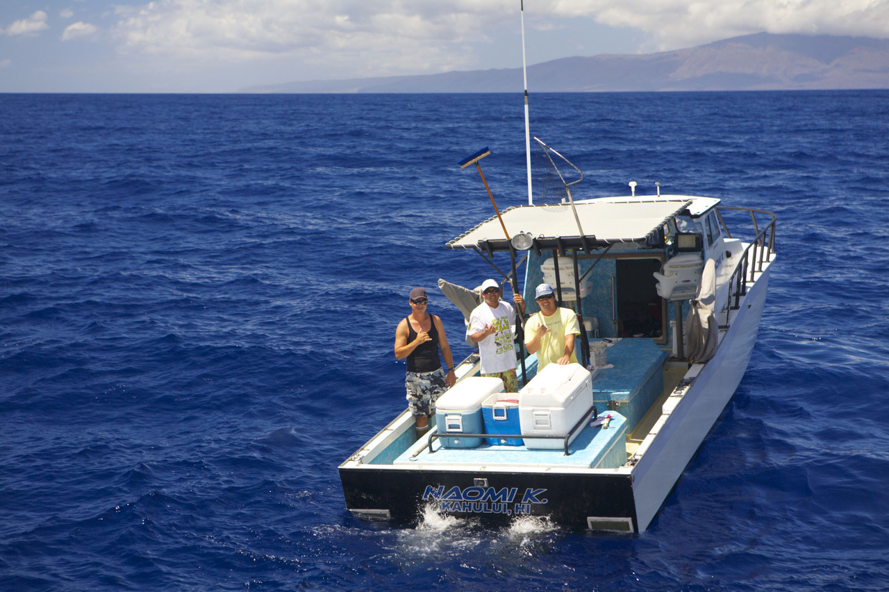 The Naomi K, a cooperative research fishing vessel