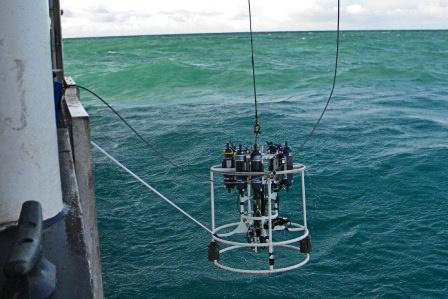 Oceanographic CTD retrieval