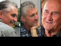 Frank Gargas, Sr., Frank Gargas, Jr. and Steve Gargas