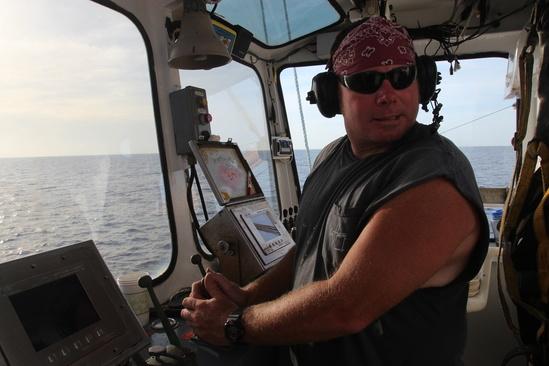 Fisherman Chris Nichols