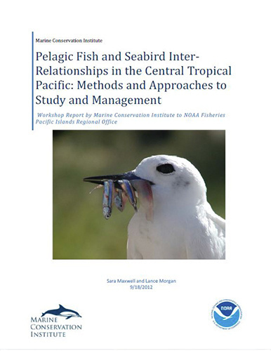 Pelagic Fish and Seabird Inter-Relationships in the Central Tropical Pacific: Methods and Approaches to Study and Management, report cover.