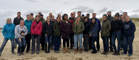 GARFO Protected Resources Division All-Hands Photo Op October 2019