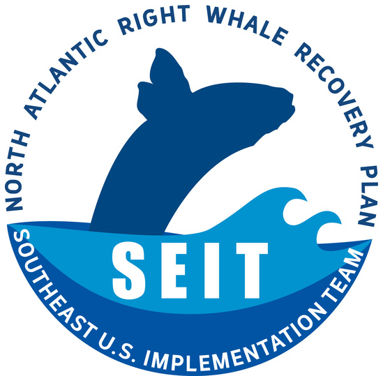 North Atlantic right whale Southeast implementation team logo
