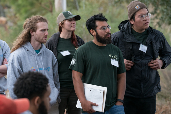 The first cohort of GulfCorps in the field during their first orientation at Camp Beckwith, Alab.jpg