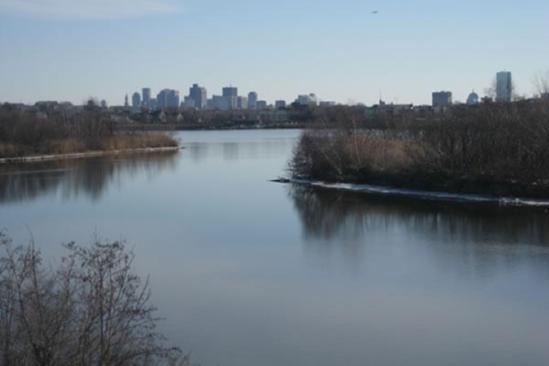 Mystic River landscape