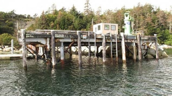 Photo of existing dock