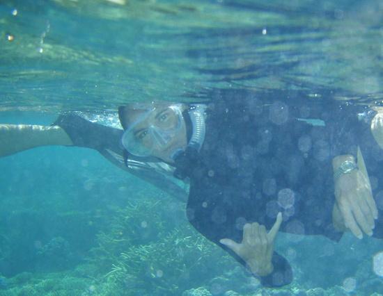 Kim Hum leads The Nature Conservancy's Hawai'i Marine Team.Credit: TNC.