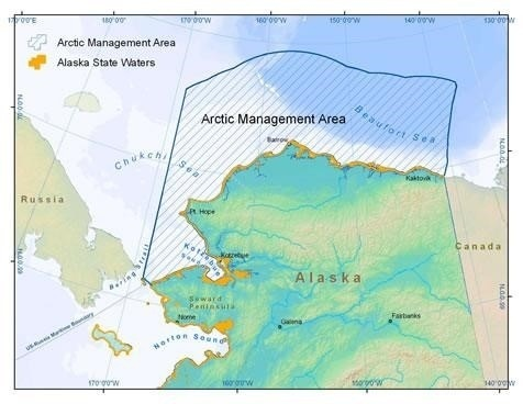 Arctic Management Area Map