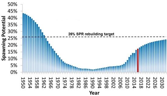 Graph-Gulf-LCAMP-spawning potential-1950-2030 201806-NMFS SERO.JPG