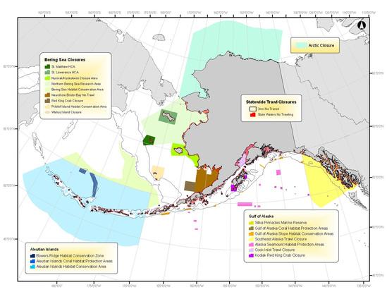 Map of habitat