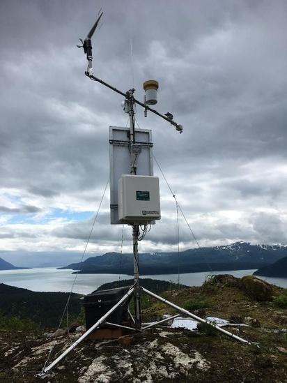 Photo of Nunatak upper weather station