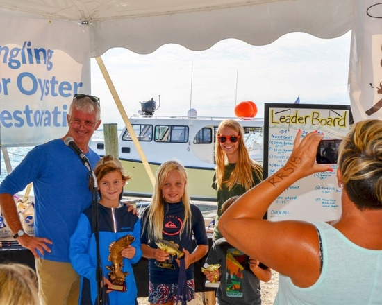 Chesapeake Bay fishing tournament youth division winners.jpg