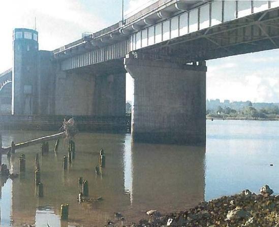 Chehalis River Bridge photo