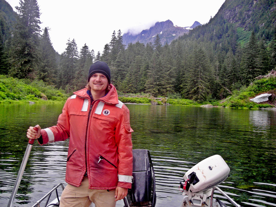 Charlie Waters Research Fish Biologist.