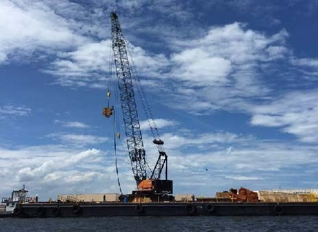 Photo of construction crane