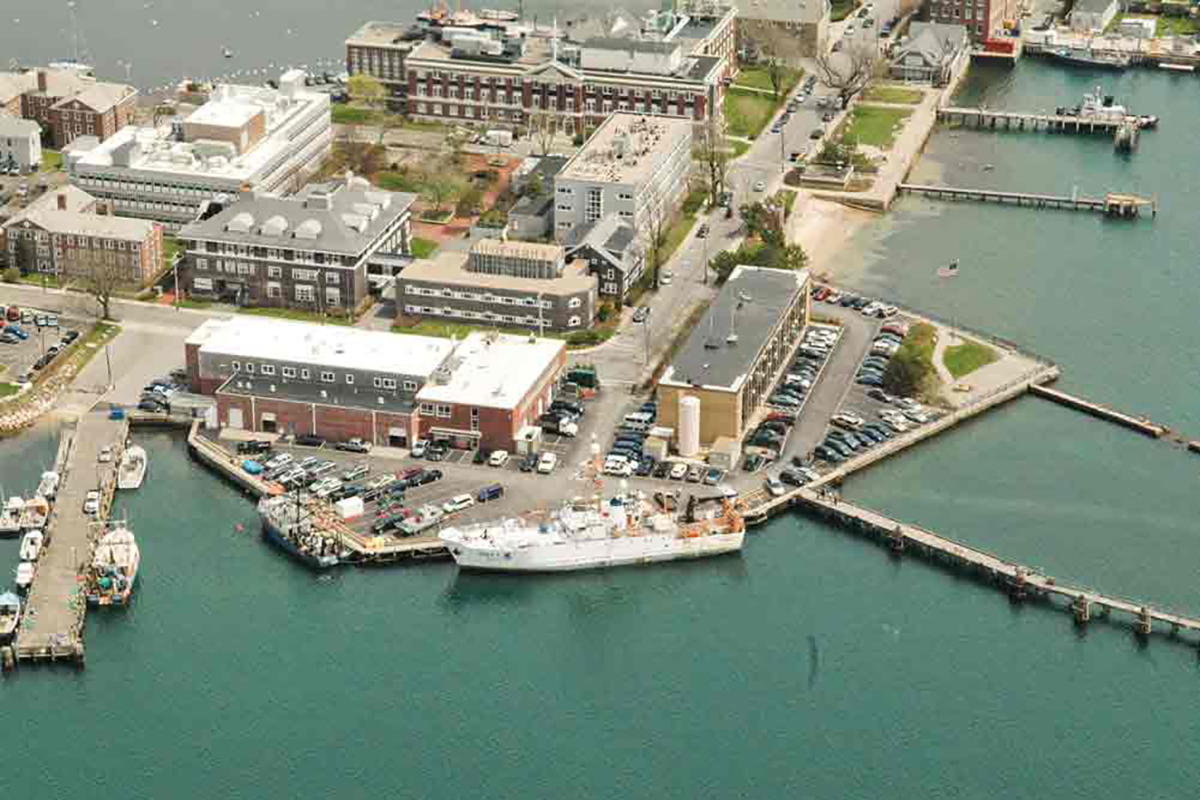 Northeast Fisheries Science Center aerial view.