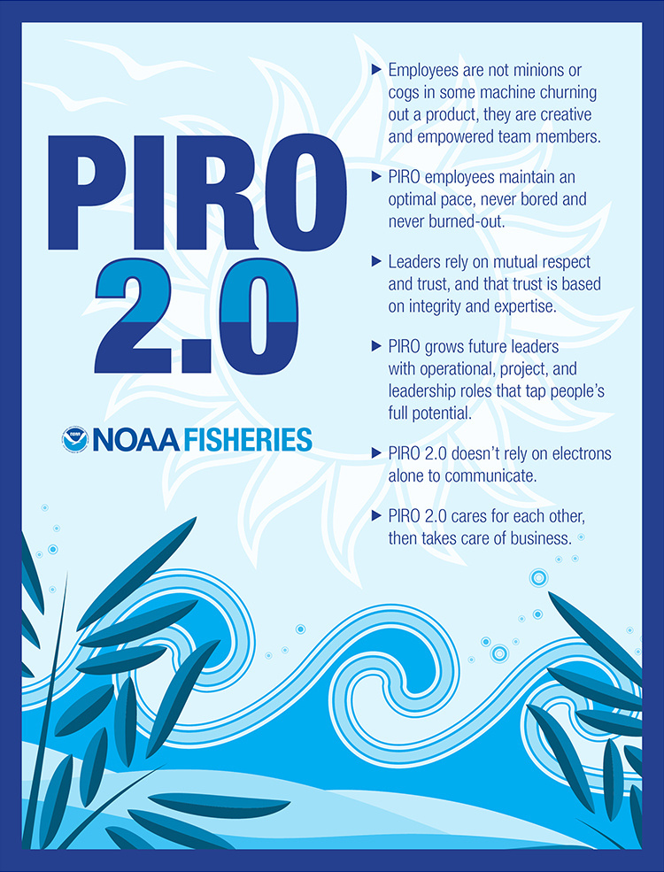 PIRO 2.0 objectives poster