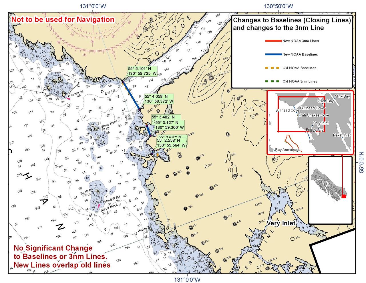 Chart for Bullhead Cove