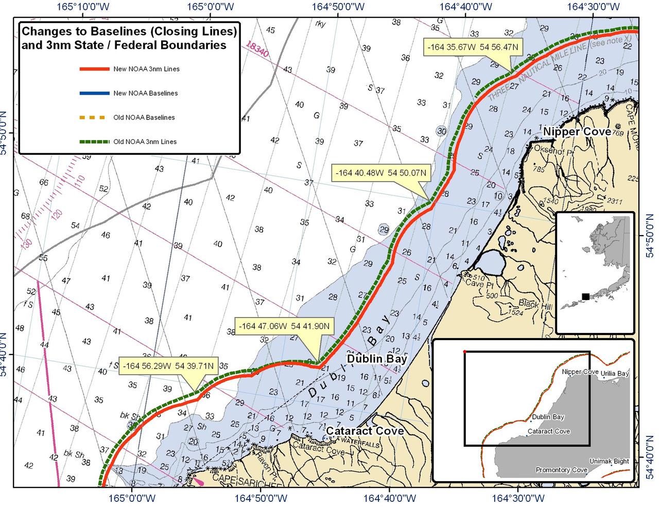 Chart for Dublin Bay