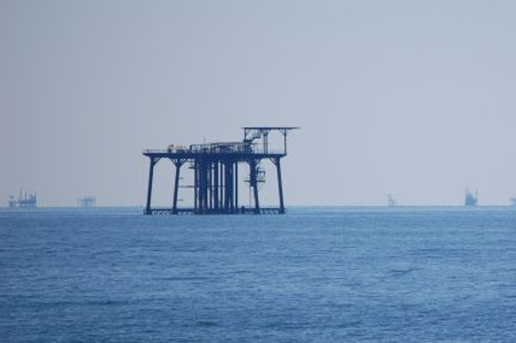 Platforms in the Gulf of Mexico