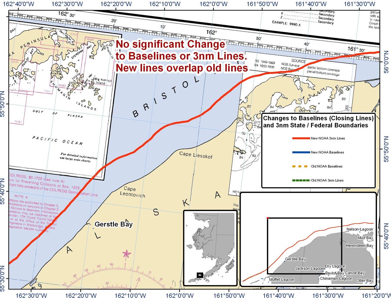 Chart for Gerstle Bay