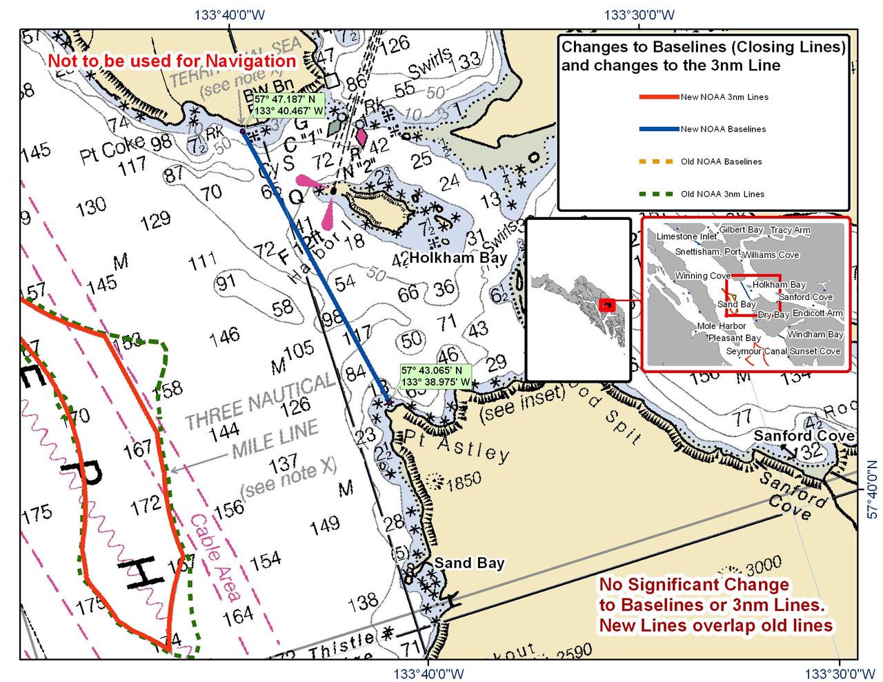 Chart for Holkham Bay