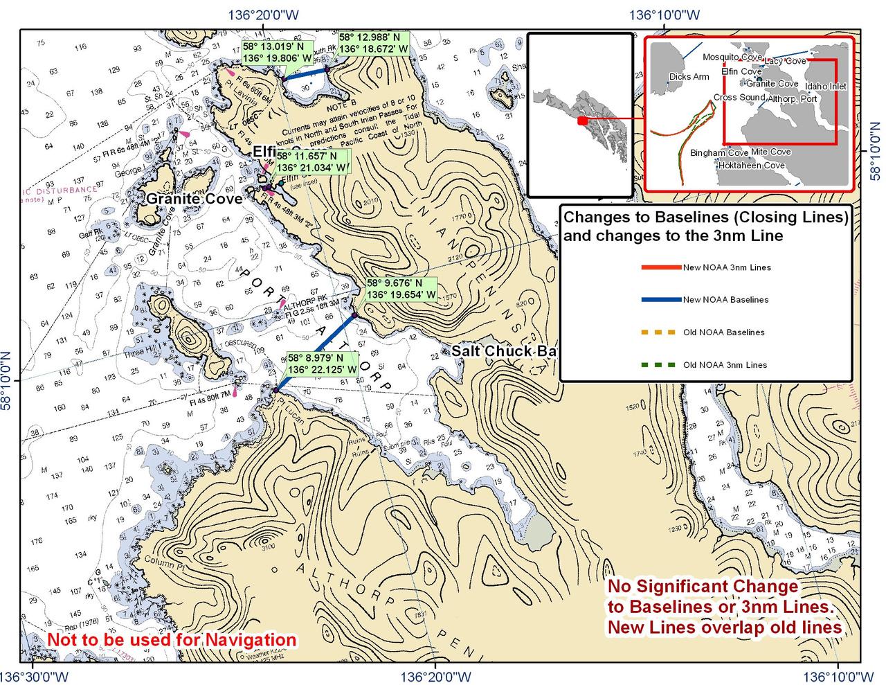 Chart for Inian Peninsula