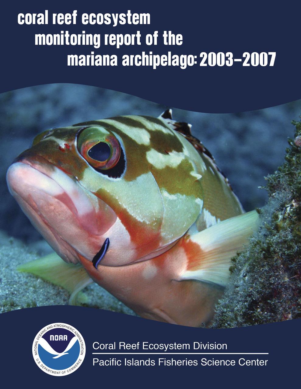 Mariana Archipelago Report Cover