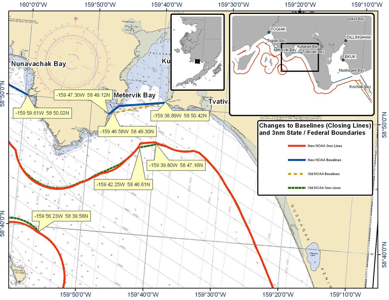 Chart Metervik Bay