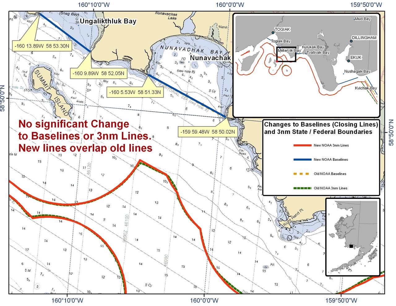 Chart for Nunavachak Bay