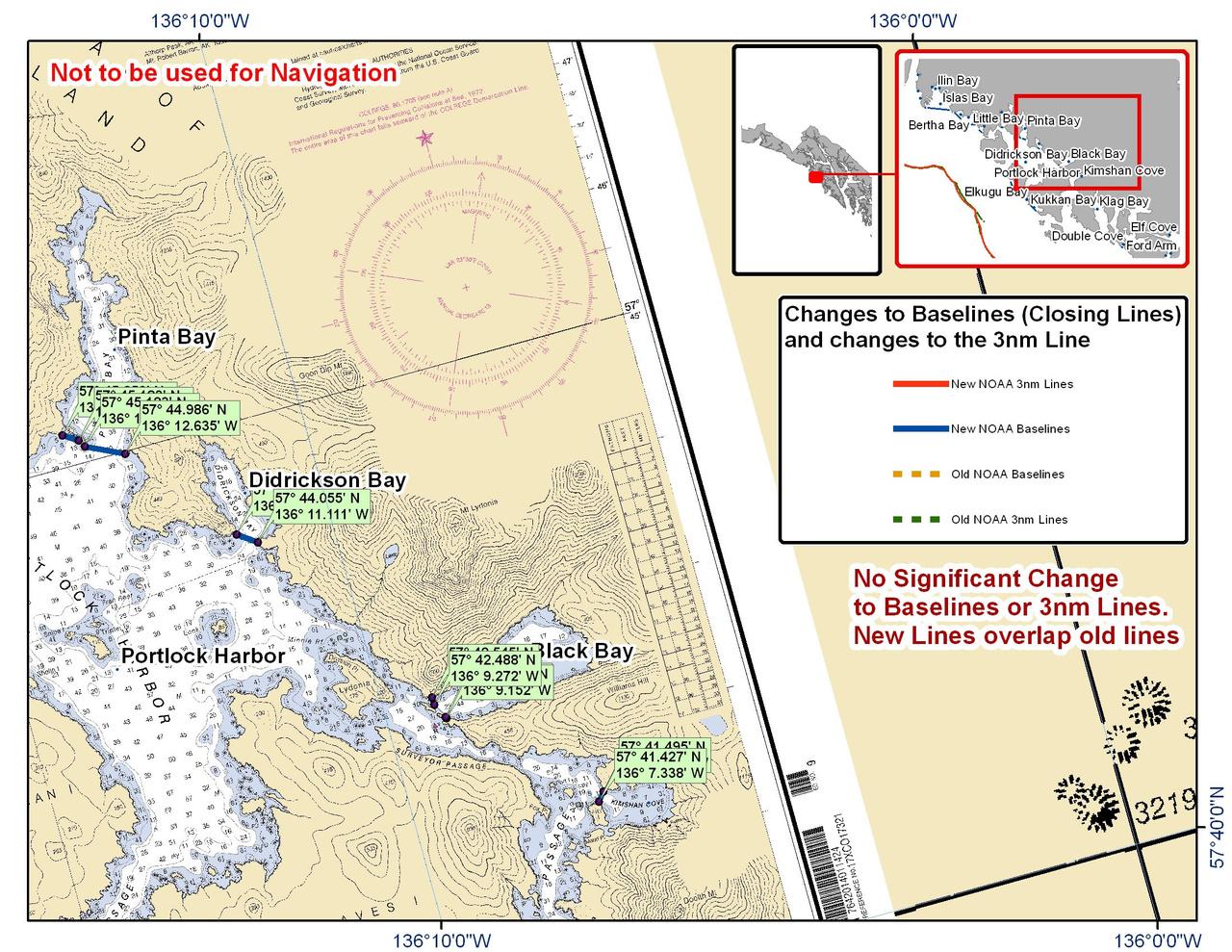 Chart for Portlock Harbor