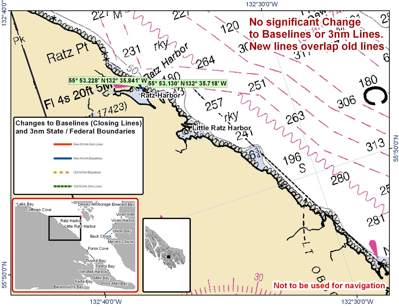 Chart for Ratz Harbor