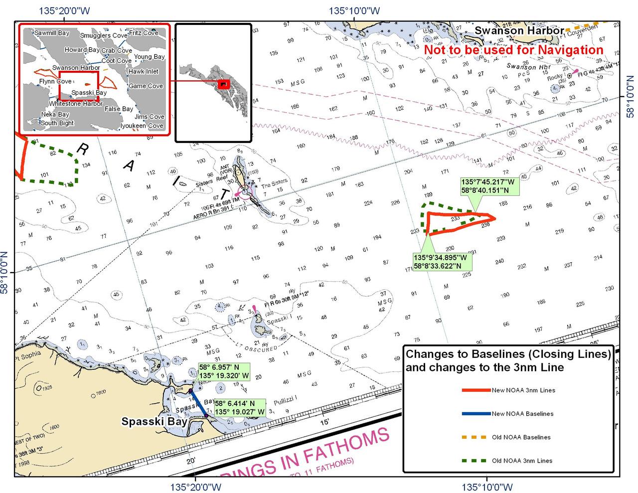 Chart for Spasski Bay