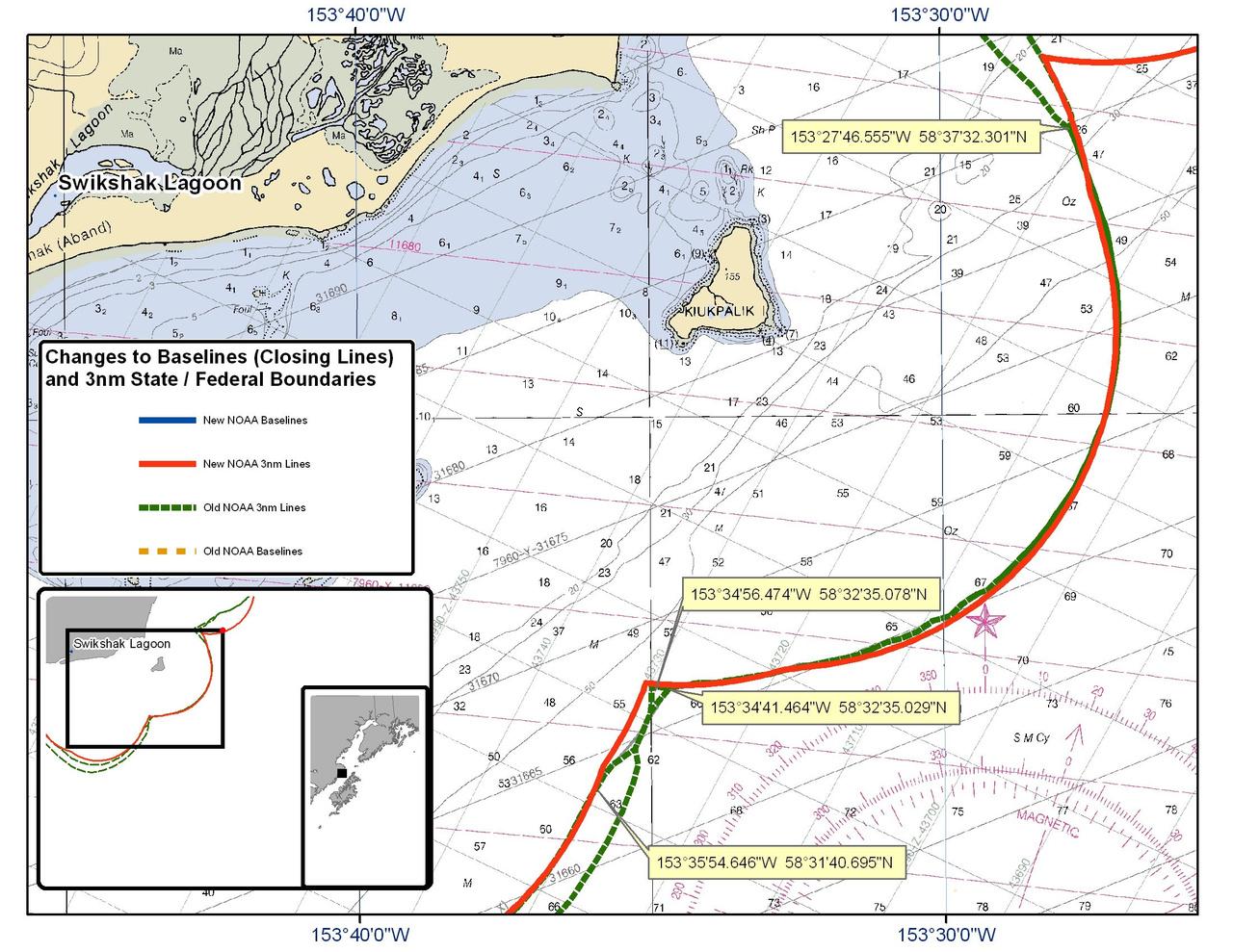 Chart for Swikshak Lagoon